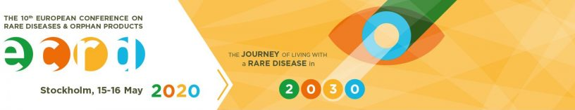 European Conference on Rare Diseases & Orphan Products in Stockholm 2020 - ECDR